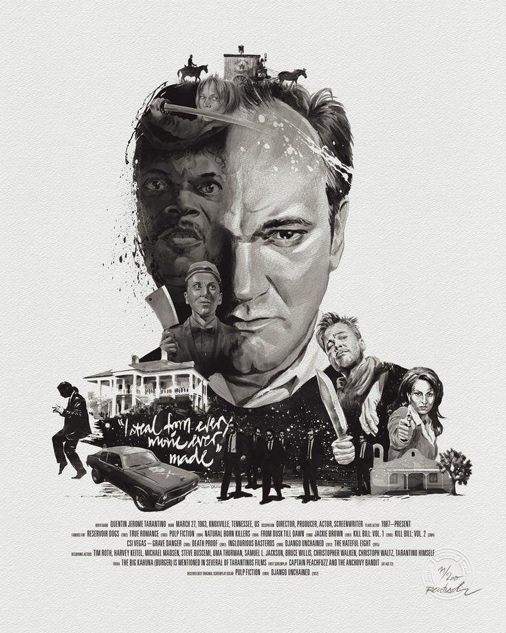 El director de película Retrato: Quentin Tarantino por Stellavie y Julian Rentzsch