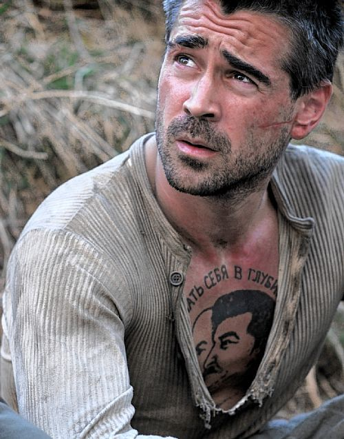 Collin Farrell movie The Way Back. Escape from Siberian jail to Inida step by step.