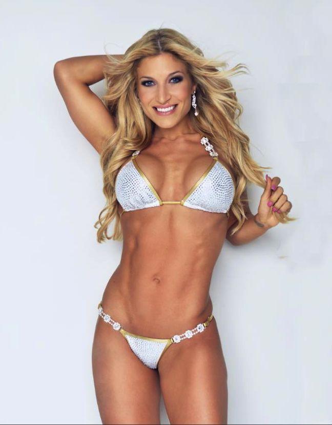 Body Coaches :: Ingrid Romero... White suit   Contest Prep ...