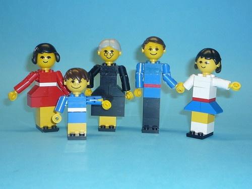 LEGO SET No 200 VINTAGE LEGO FAMILY WITH INSTRUCTIONS | eBay I had this exact set