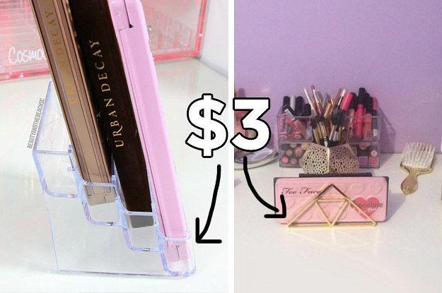 Makeup Vanity Organizer Diy: Best 20+ Cheap Makeup Organization Ideas On Pinterest