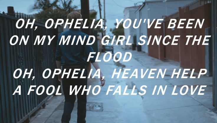 "danger: ""The Lumineers - Ophelia """
