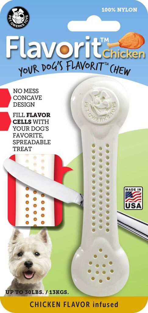 Flavorit Nylon Chew Bone - Chicken Flavor