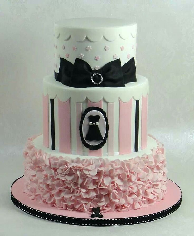 72 Best Images About 18th Birthday Cakes And Cupcakes On