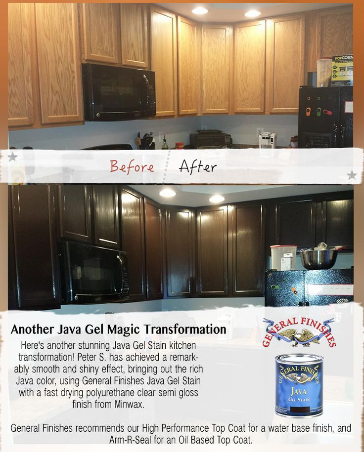 Here's Another Beautiful General Finishes Java Gel Stain