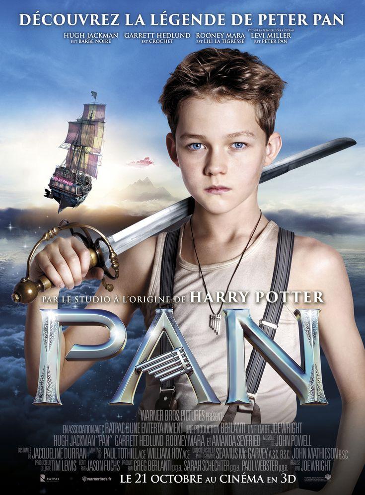 Pan est un film de Joe Wright avec Levi Miller (II), Hugh Jackman. Synopsis : Proposant un nouveau regard sur l'origine des personnages légendaires créés par J.M. Barrie, le film s'attache à l'histoire d'un orphelin enlevé