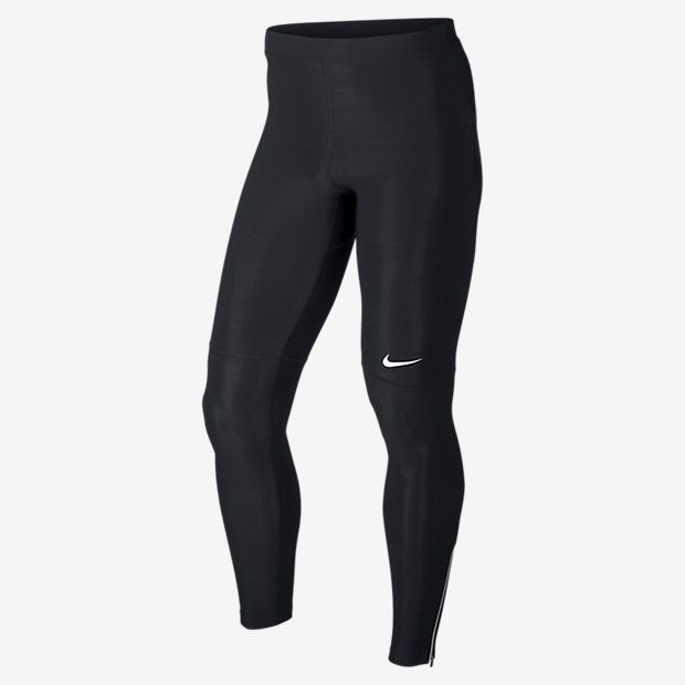 The Nike Filament Tights: Snug fit and sweat-wicking fabric Designed to move with you, Nike Filament Men's Track And Field Tights have a full-length, body-hugging fit. Stretchy fabric that lifts sweat away from the skin helps keep you dry and comfortable during your run. Benefits Dri-FIT fabric to wick sweat away and help keep you dry and comfortable Ergonomic, flat-seam construction for comfort Stretch waist with drawcord for a snug fit Zip pocket at back hip for secure, small-item storage…