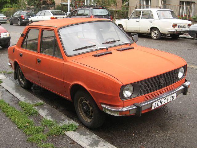 1982 Škoda 105 S model