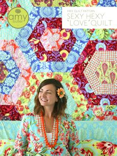 We love Amy Butler: here are some of her Free Patterns.     Her fabric is available here: www.fatquartersho...