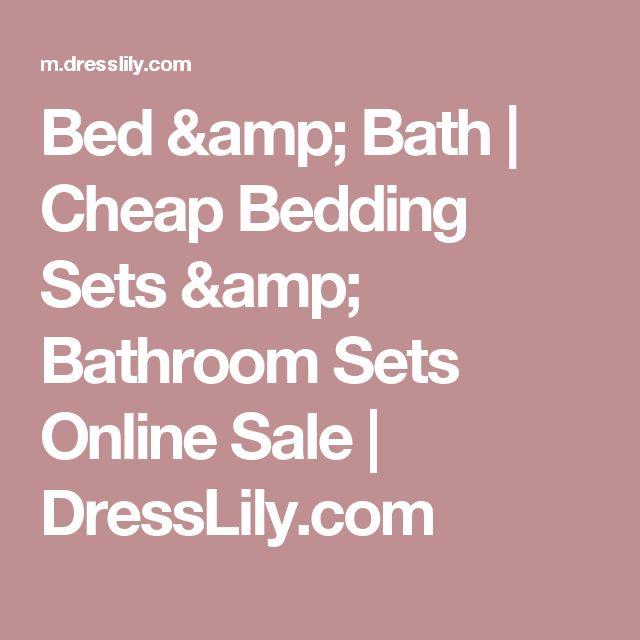 Bed & Bath | Cheap Bedding Sets & Bathroom Sets Online Sale | DressLily.com