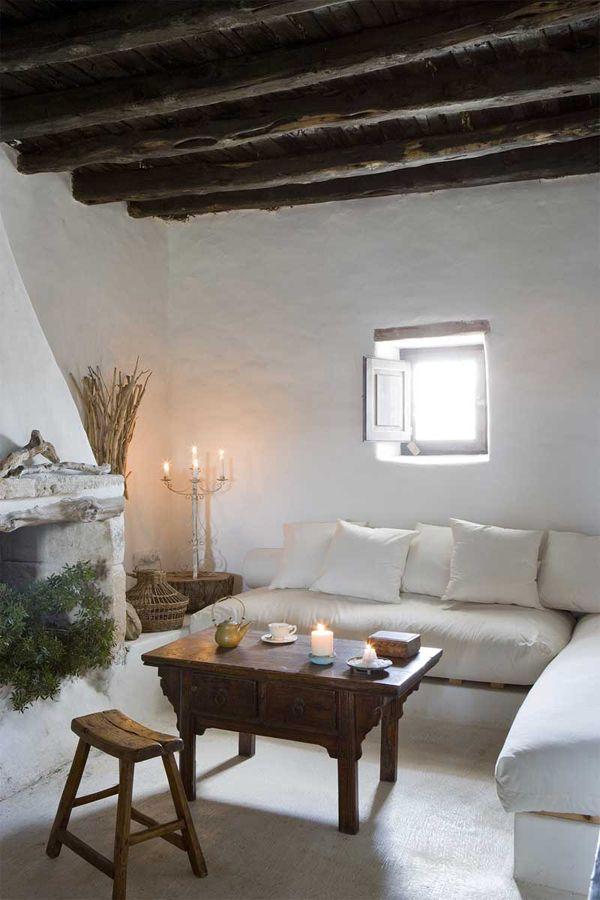 Una casa rústica en la isla de Formentera