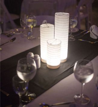 Paper Lantern Centerpieces | Paper Lantern Centerpiece Lights $87 | For the Home