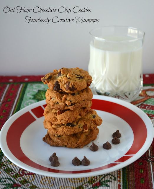 Oat flour chocolate chip cookie recipes