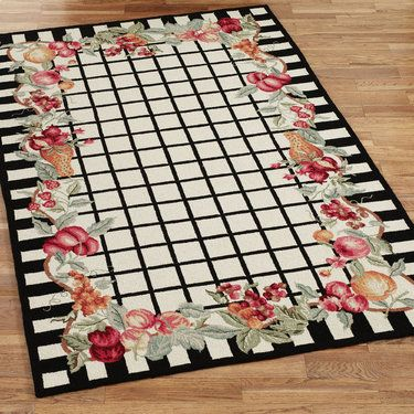 Fruit Garland Area Rugs Garlands Rug Features And