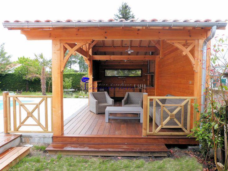 Croix St André pour pool house et cuisine d'été.