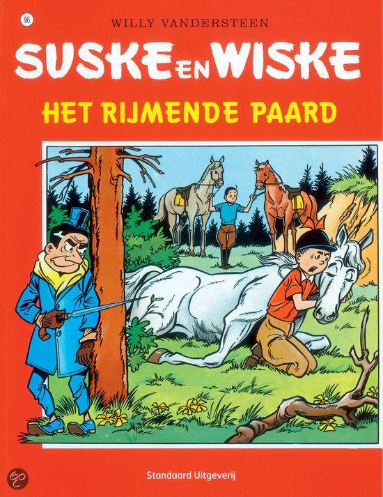 96 - Suske en Wiske - Het rijmende paard