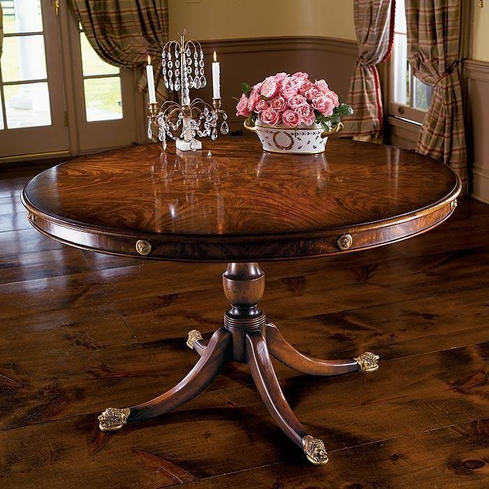 Formal Tilt Top Table gold embellishments prima