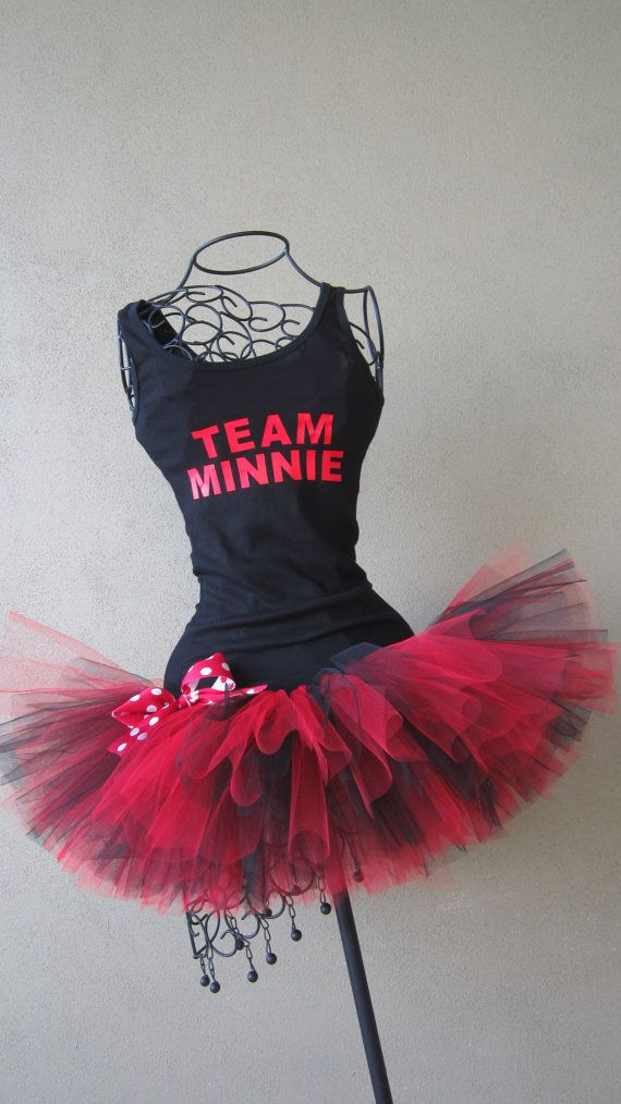 Running Tutus: Team Mouse Themed Racing Tank by LuckyNumberTutu