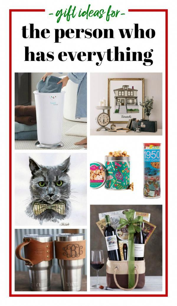 Gift Ideas for the Person Who Has Everything - unique and affordable gift  ideas for parents, people who have everything and other hard to buy for  people on ... - Gift Ideas For The Person Who Has Everything - Unique And Affordable