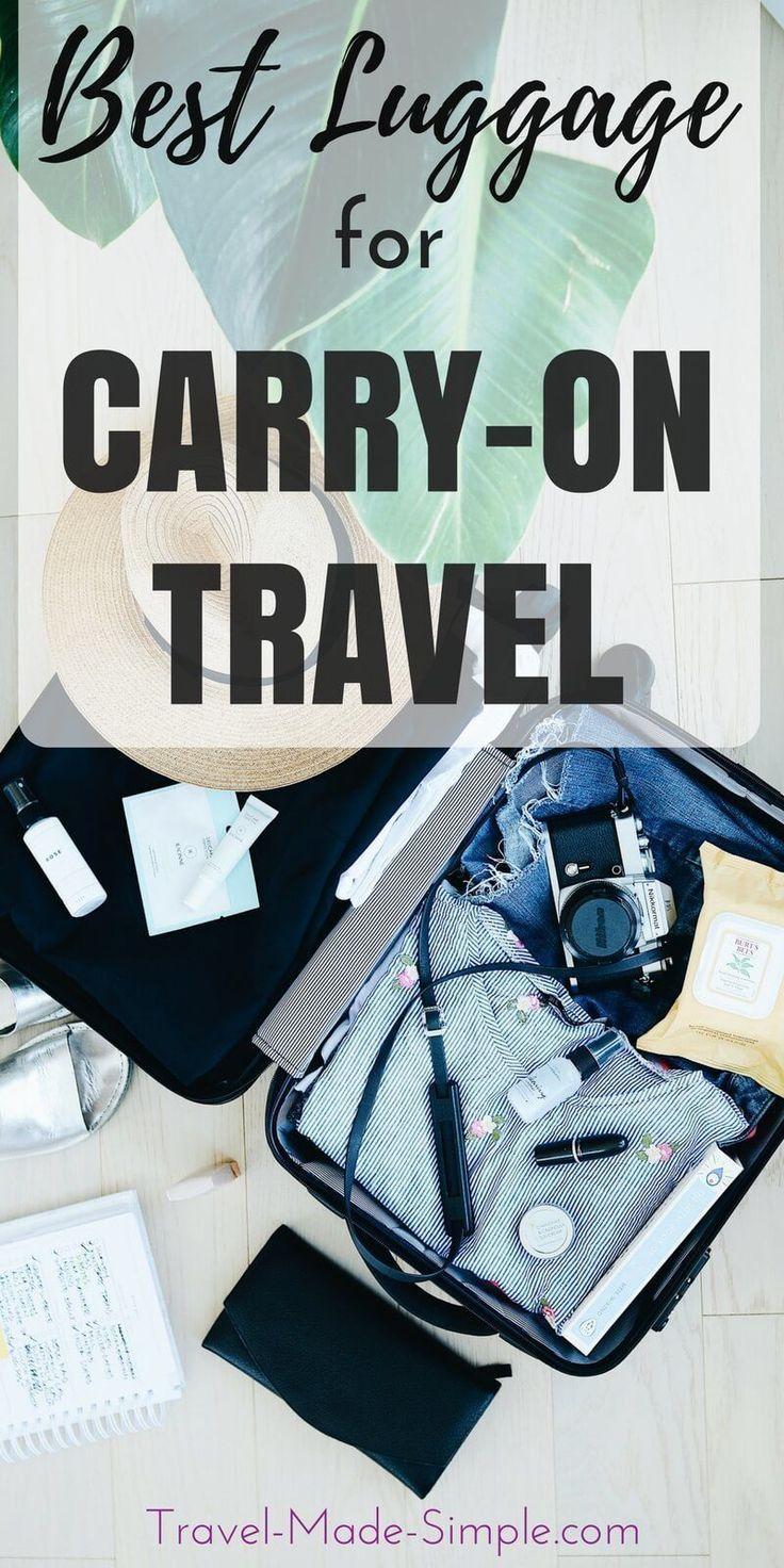 d417700e1f3c Picking the best carry-on luggage can be overwhelming with so many choices.  Here s what to look for in a bag and how to choose the best carry-on size  ...