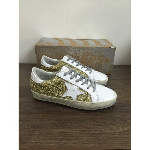 2017 Golden Goose SuperStar Women - Best 2017 Golden Goose DB SuperStar Women Sneakers Gold White GGDB Lebanon Outlet