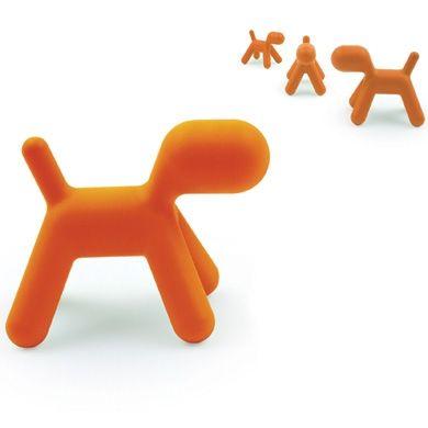 Puppy Magis Me too, chien design, chaise enfant, Medium