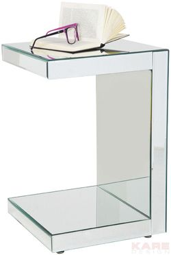 Side Table Mirror 40x40cm