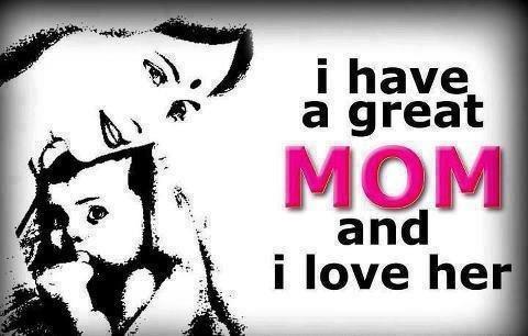 I love my Mum