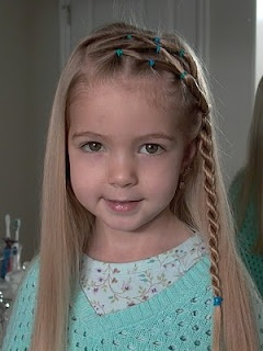 So many cute hairstyles for little girls!
