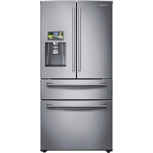 Samsung French Door Refrigerator Temperature Settings: 28.2 Cu. Ft. 4-Door French Door Apps