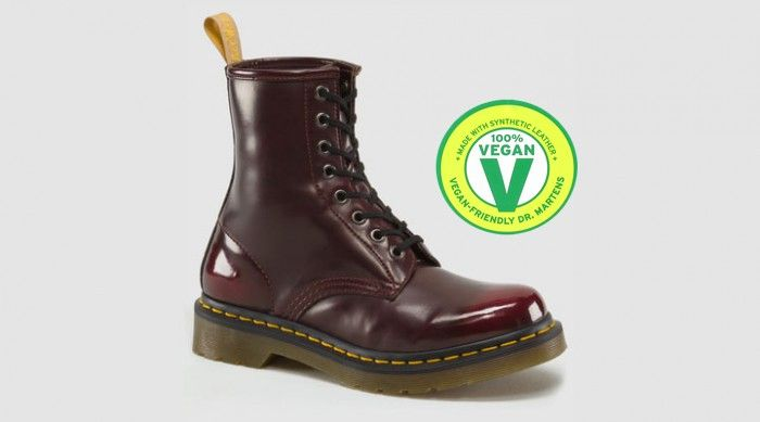 Dr Martens in 1460 CHERRY RED - These are Vegan!