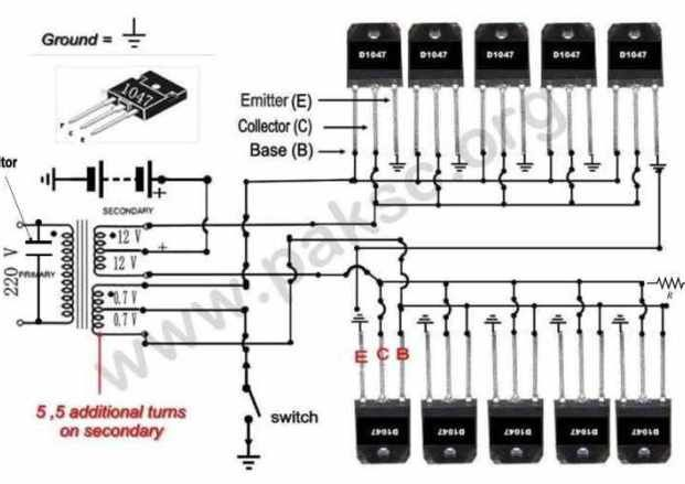 Schematic Power Inverter Wiring Diagram from i.pinimg.com