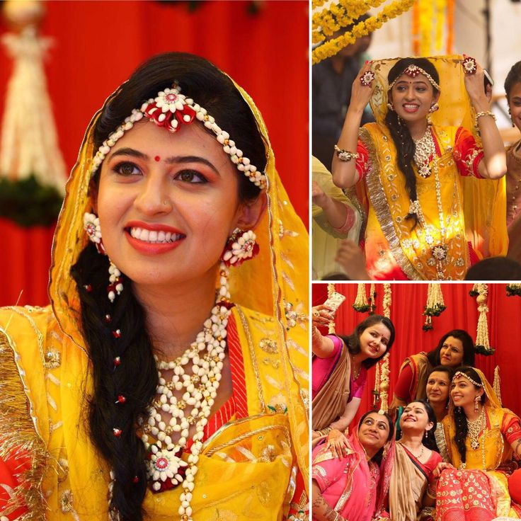 """""""I wanted to personally thank you for giving me a fairytale experience in your exclusive poshak that I wore for my Mehendi ceremony in Gujarat. I was showered with compliments for the wonderful poshak."""" - Ankita Kumari Baisa Thank you for your appreciation :)"""