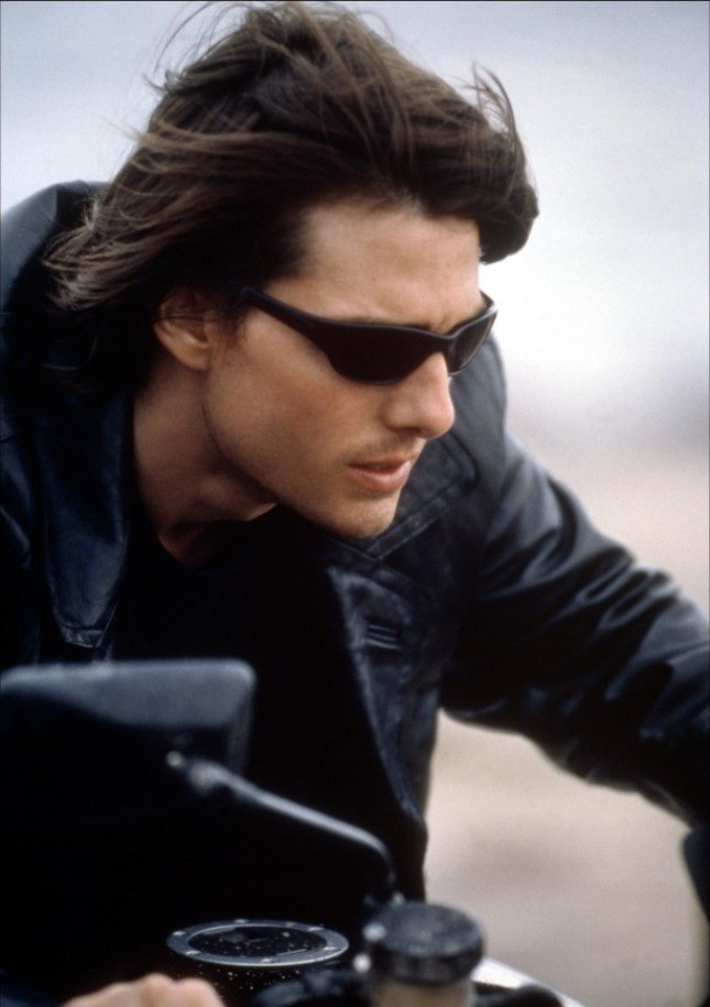 Tom Cruise in Mission: Impossible II (2000) by John Woo.