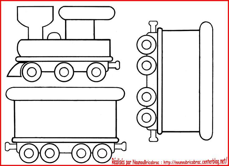 Locomotive + wagon pour écrire les anniversaires et noms des élèves