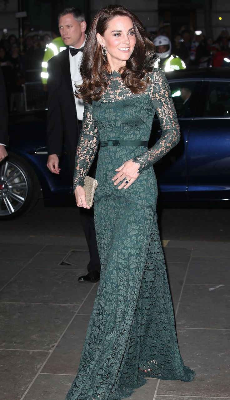 Kate's gorgeous blowout is looking fuller and shinier than ever!