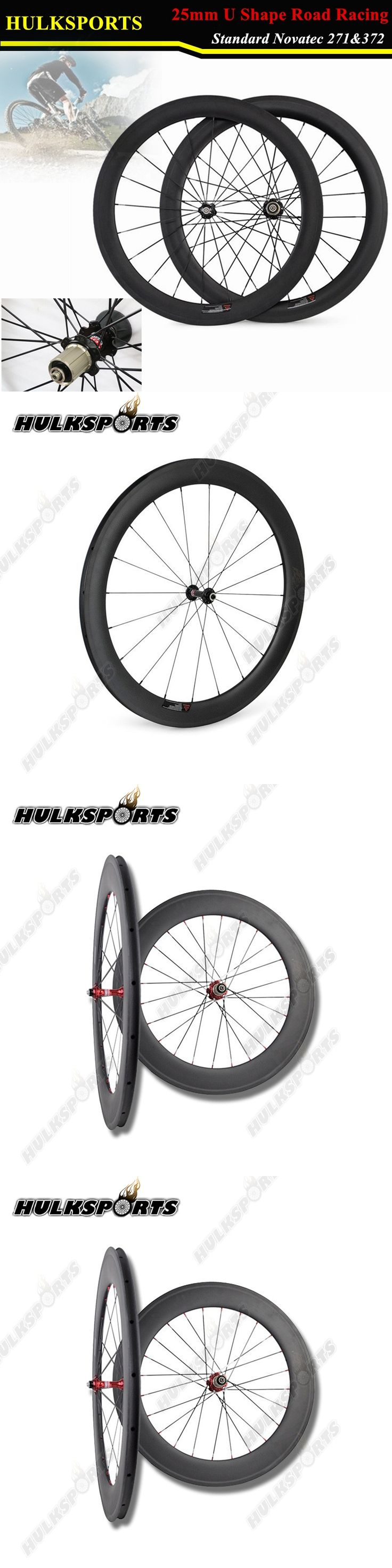 700C carbon wheels Clincher 60mm road cyclo cross wheelset 25mm width UD/3K matte with V brake wheelset HK-WH-60C-W25-C