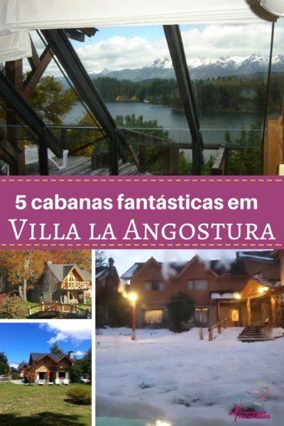 5 cabanas em Villa la Angostura
