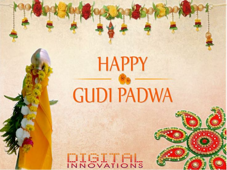Good luck, good fortune, wealth & prosperity … May you be blessed with all these and more on Gudi Padwa! #happygudipadwa  - Regards, Digital Innovations