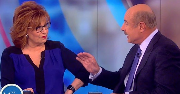 Dr. Phil OBLITERATES Joy Behar After She Trashes Trump on 'The View' [VIDEO]