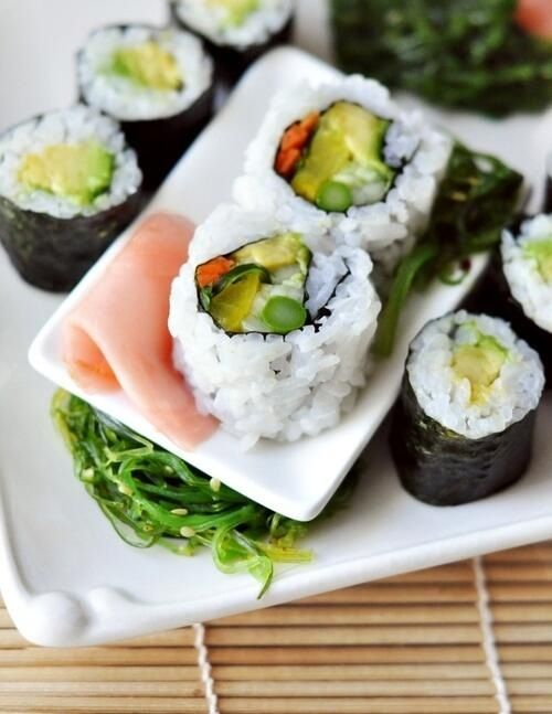 That sushi needs more raw fish, but besides that it looks amazing.