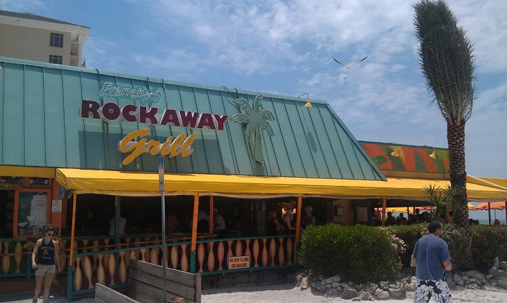 Frenchys Rockaway Grill Clearwater Beach Florida Our