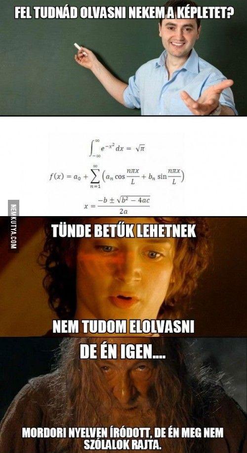Matek képlet