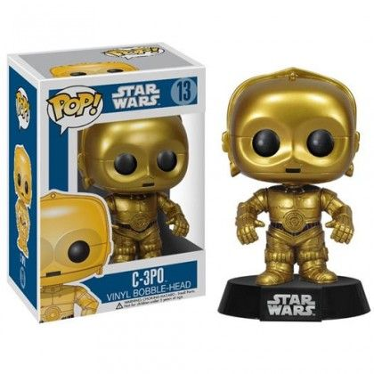 Star Wars C-3PO Series 2 POP! Vinyl Bobble Figure - Roliga Prylar