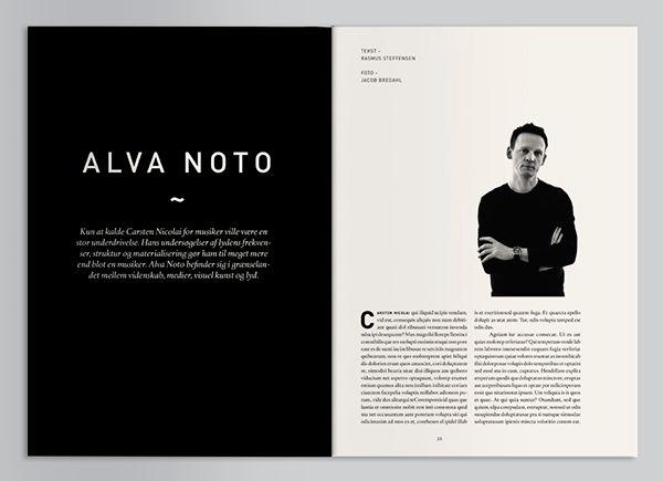 Geiger Magazine - Editorial Design | Abduzeedo