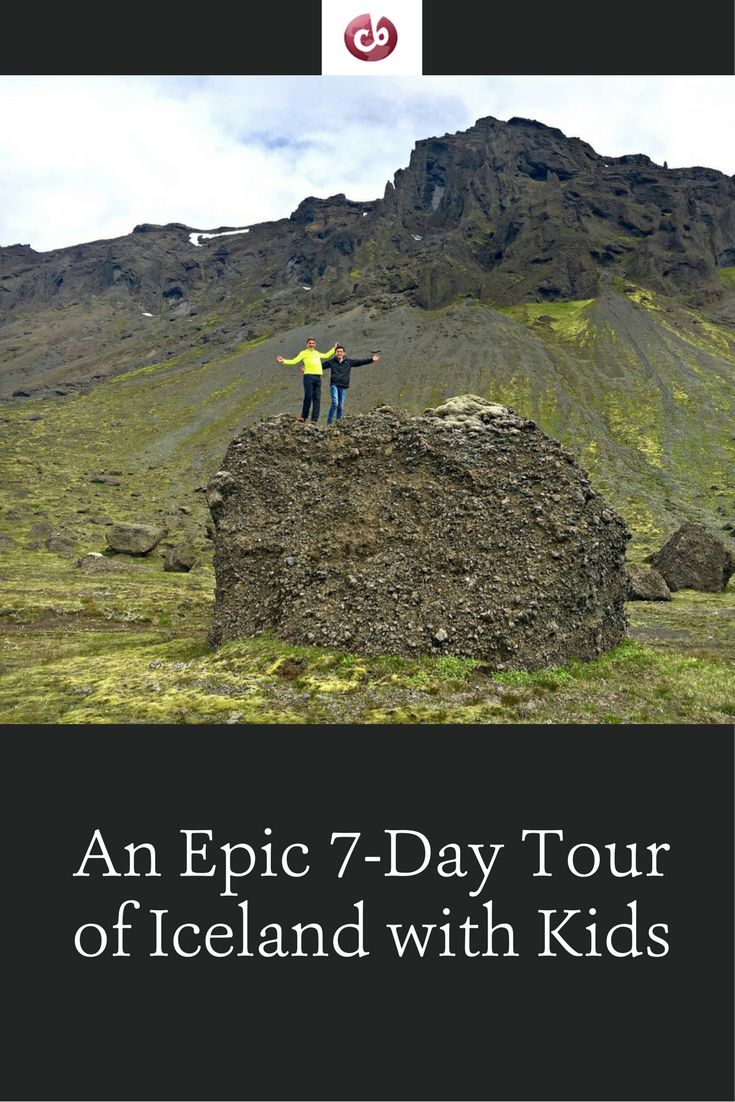 Best Itinerary for a Week in Iceland with Kids
