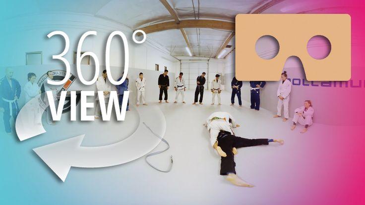 JIU-JITSU FIGHT TRAINING in 360° | A VIRTUAL REALITY EXPERIENCE
