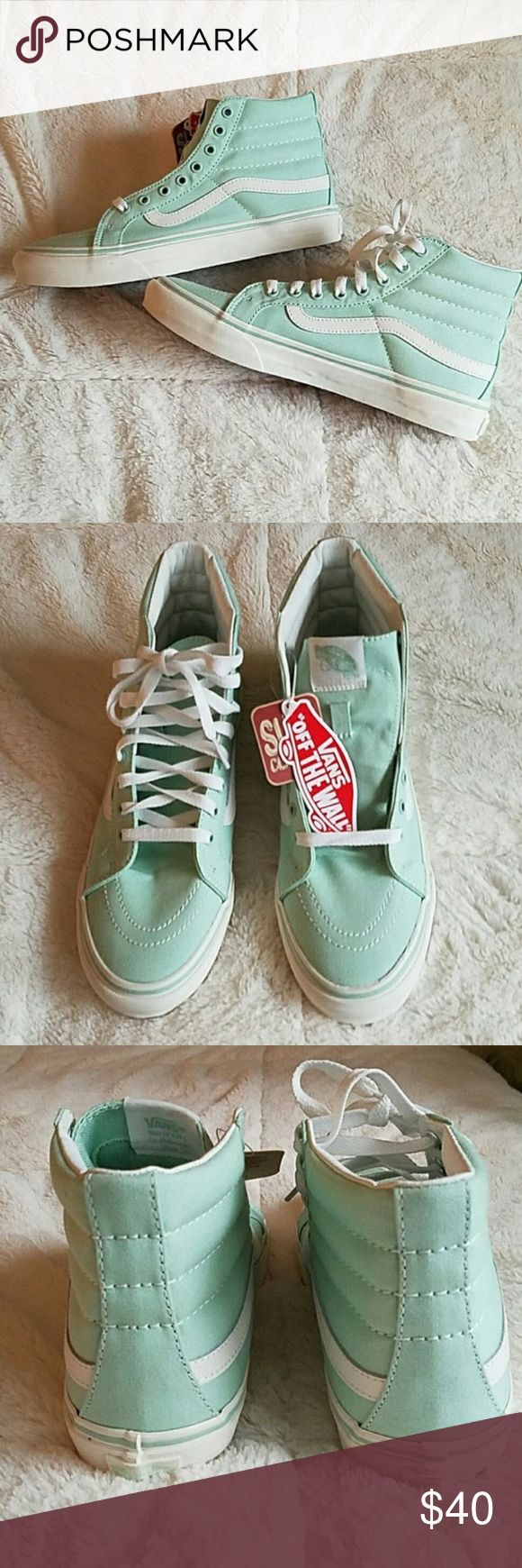 NEW Mint Vans NEW Mint Vans. New with tags. Never worn. These retail for $75 Vans Shoes Sneakers