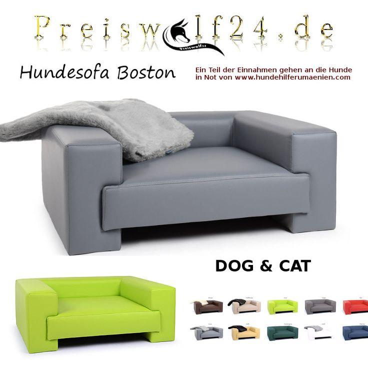 Ein cooles elegantes Hundesofa Hundebett das zu jeder Einrichtung und Hund passt einfach ein schönes Hundesofa voll im fashion Trend style , Shopping bei Preiswolf24.de Hundebetten zum TRÄUMEN