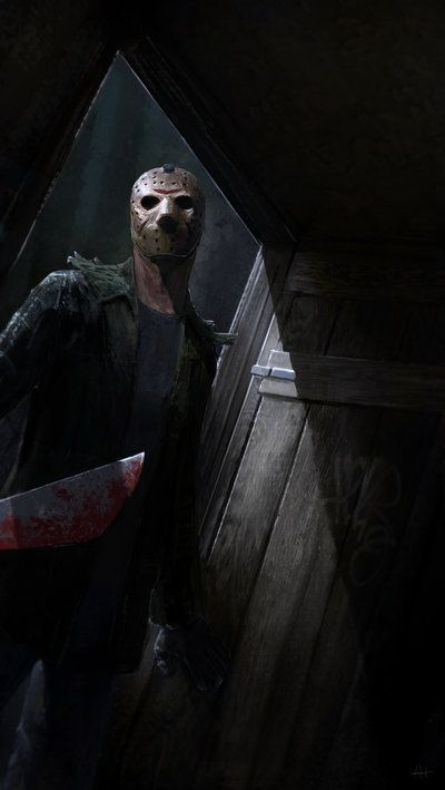 Old drawing that I just could finish. Jason Voorhees, bItChEs. -lmao!- I was planning to work on each Jason version, actually, I wanted to do a tribute of Jason from part 3, since Richard Brooker p...